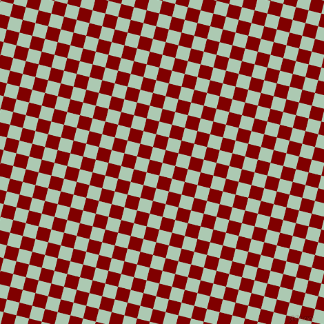 76/166 degree angle diagonal checkered chequered squares checker pattern checkers background, 19 pixel squares size, , Gum Leaf and Maroon checkers chequered checkered squares seamless tileable