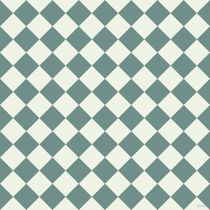 45/135 degree angle diagonal checkered chequered squares checker pattern checkers background, 63 pixel squares size, , Gumbo and Saltpan checkers chequered checkered squares seamless tileable