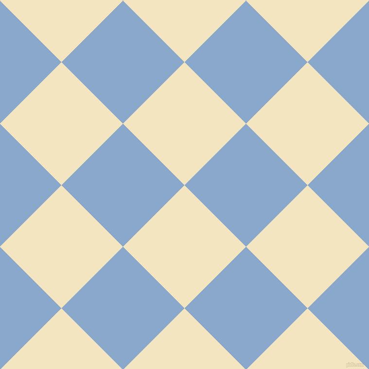 45/135 degree angle diagonal checkered chequered squares checker pattern checkers background, 179 pixel squares size, , Half Colonial White and Polo Blue checkers chequered checkered squares seamless tileable