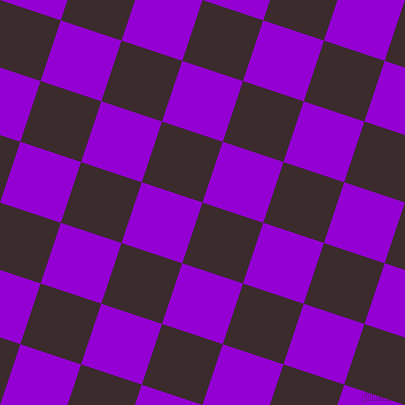 72/162 degree angle diagonal checkered chequered squares checker pattern checkers background, 64 pixel square size, Havana and Dark Violet checkers chequered checkered squares seamless tileable
