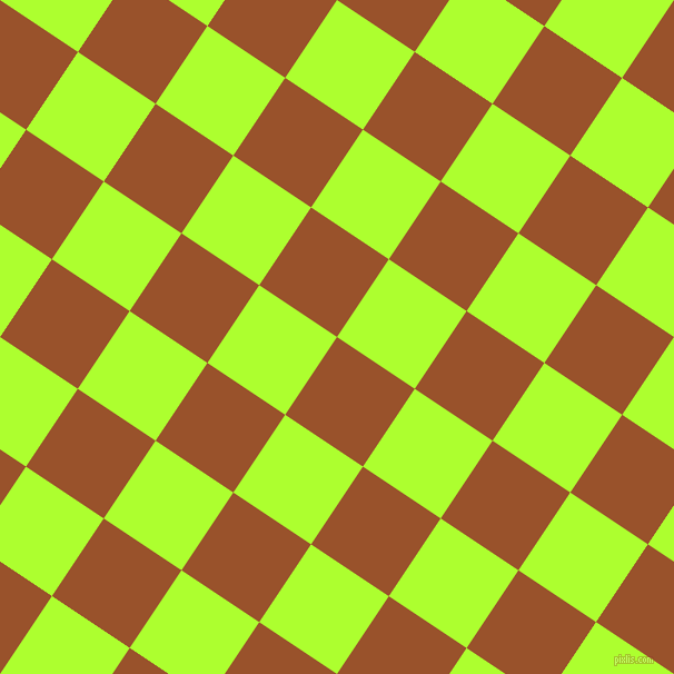 56/146 degree angle diagonal checkered chequered squares checker pattern checkers background, 84 pixel square size, , Hawaiian Tan and Green Yellow checkers chequered checkered squares seamless tileable