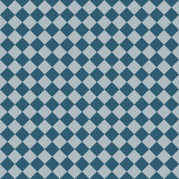45/135 degree angle diagonal checkered chequered squares checker pattern checkers background, 36 pixel squares size, Heather and Blumine checkers chequered checkered squares seamless tileable