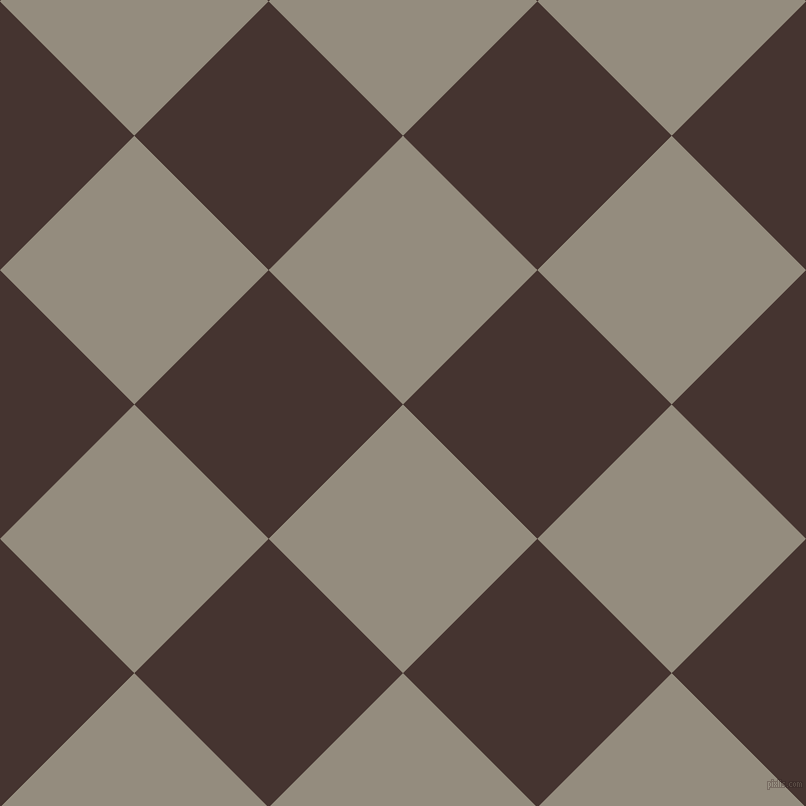 45/135 degree angle diagonal checkered chequered squares checker pattern checkers background, 190 pixel square size, , Heathered Grey and Rebel checkers chequered checkered squares seamless tileable