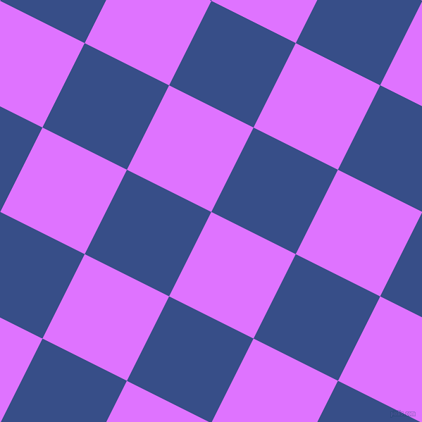 63/153 degree angle diagonal checkered chequered squares checker pattern checkers background, 134 pixel squares size, , Heliotrope and Tory Blue checkers chequered checkered squares seamless tileable