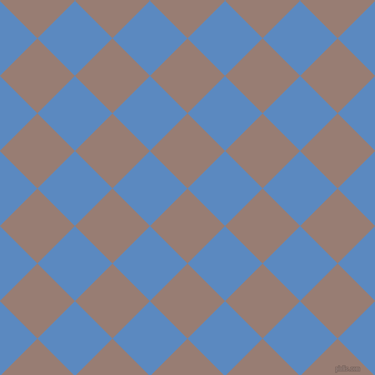 45/135 degree angle diagonal checkered chequered squares checker pattern checkers background, 76 pixel square size, , Hemp and Danube checkers chequered checkered squares seamless tileable