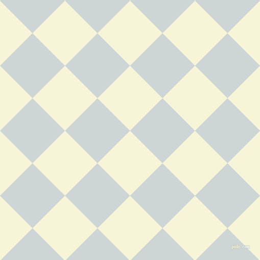 45/135 degree angle diagonal checkered chequered squares checker pattern checkers background, 90 pixel square size, , Hint Of Yellow and Zumthor checkers chequered checkered squares seamless tileable