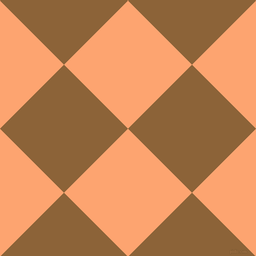 45/135 degree angle diagonal checkered chequered squares checker pattern checkers background, 186 pixel squares size, , Hit Pink and McKenzie checkers chequered checkered squares seamless tileable