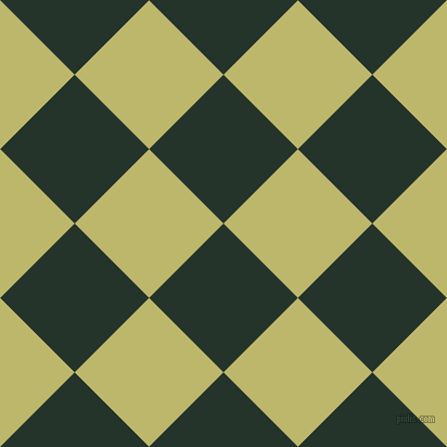 45/135 degree angle diagonal checkered chequered squares checker pattern checkers background, 97 pixel squares size, , Holly and Dark Khaki checkers chequered checkered squares seamless tileable