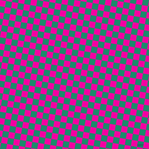 81/171 degree angle diagonal checkered chequered squares checker pattern checkers background, 21 pixel square size, , Hollywood Cerise and Elf Green checkers chequered checkered squares seamless tileable