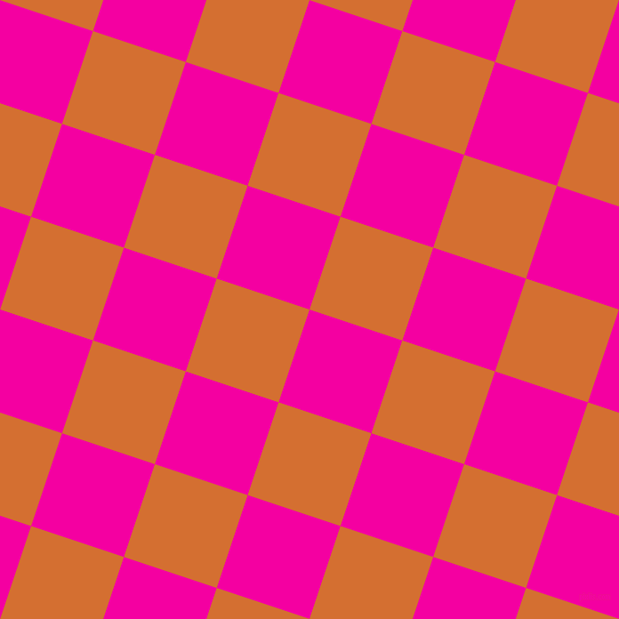 72/162 degree angle diagonal checkered chequered squares checker pattern checkers background, 110 pixel squares size, , Hollywood Cerise and Tango checkers chequered checkered squares seamless tileable