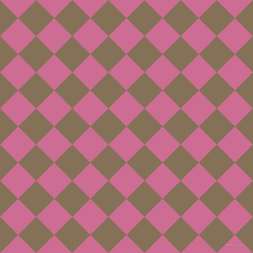 45/135 degree angle diagonal checkered chequered squares checker pattern checkers background, 52 pixel squares size, , Hopbush and Cement checkers chequered checkered squares seamless tileable