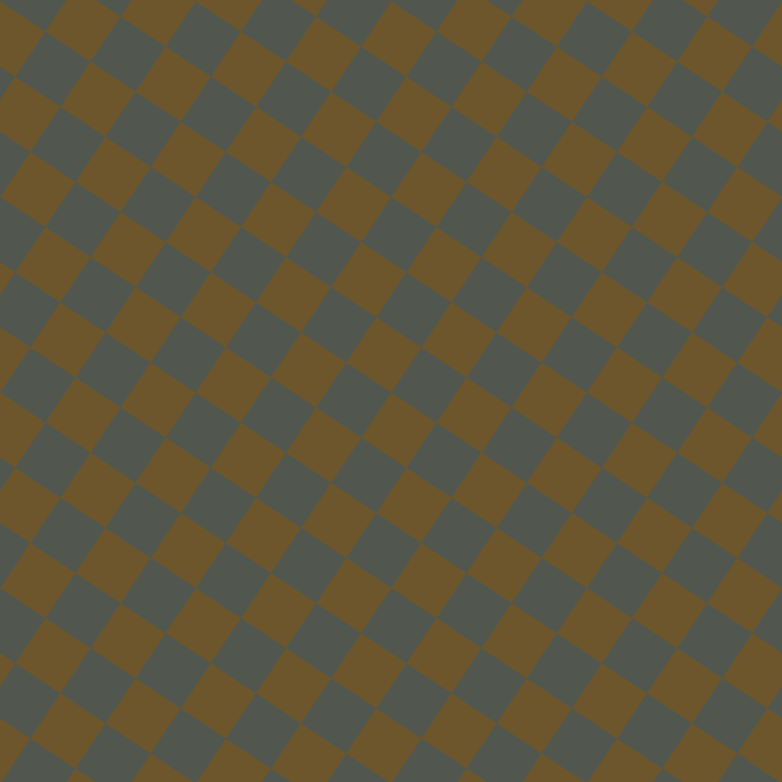 56/146 degree angle diagonal checkered chequered squares checker pattern checkers background, 50 pixel squares size, , Horses Neck and Battleship Grey checkers chequered checkered squares seamless tileable