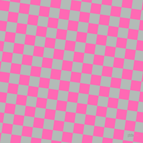 82/172 degree angle diagonal checkered chequered squares checker pattern checkers background, 33 pixel squares size, , Hot Pink and Loblolly checkers chequered checkered squares seamless tileable