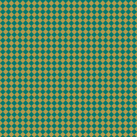45/135 degree angle diagonal checkered chequered squares checker pattern checkers background, 14 pixel squares size, , Husk and Pine Green checkers chequered checkered squares seamless tileable