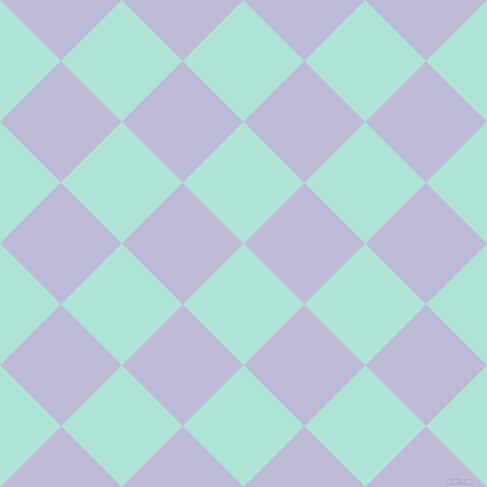 45/135 degree angle diagonal checkered chequered squares checker pattern checkers background, 123 pixel squares size, , Ice Cold and Lavender Grey checkers chequered checkered squares seamless tileable