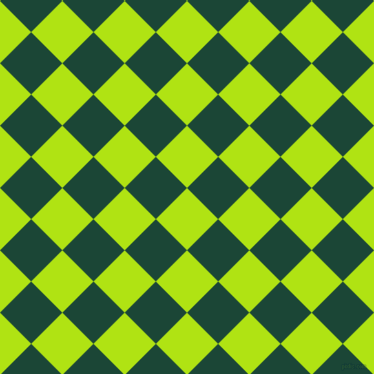 45/135 degree angle diagonal checkered chequered squares checker pattern checkers background, 64 pixel squares size, , Inch Worm and Sherwood Green checkers chequered checkered squares seamless tileable