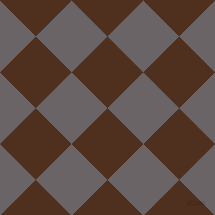 45/135 degree angle diagonal checkered chequered squares checker pattern checkers background, 104 pixel square size, , Indian Tan and Scorpion checkers chequered checkered squares seamless tileable