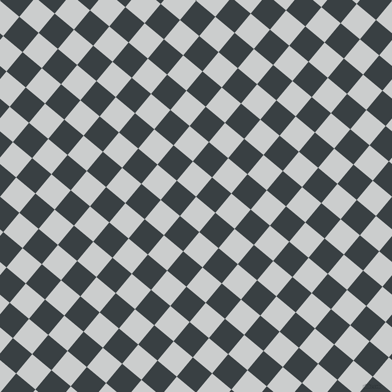 50/140 degree angle diagonal checkered chequered squares checker pattern checkers background, 50 pixel square size, , Iron and Charade checkers chequered checkered squares seamless tileable