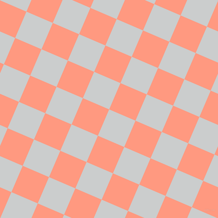 67/157 degree angle diagonal checkered chequered squares checker pattern checkers background, 93 pixel square size, , Iron and Vivid Tangerine checkers chequered checkered squares seamless tileable