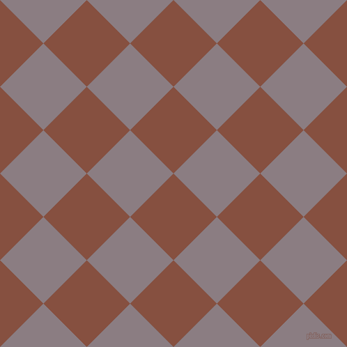 45/135 degree angle diagonal checkered chequered squares checker pattern checkers background, 88 pixel squares size, , Ironstone and Venus checkers chequered checkered squares seamless tileable
