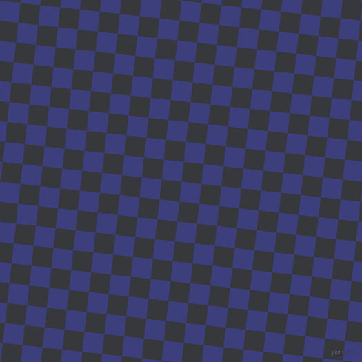 84/174 degree angle diagonal checkered chequered squares checker pattern checkers background, 29 pixel square size, , Jacksons Purple and Vulcan checkers chequered checkered squares seamless tileable