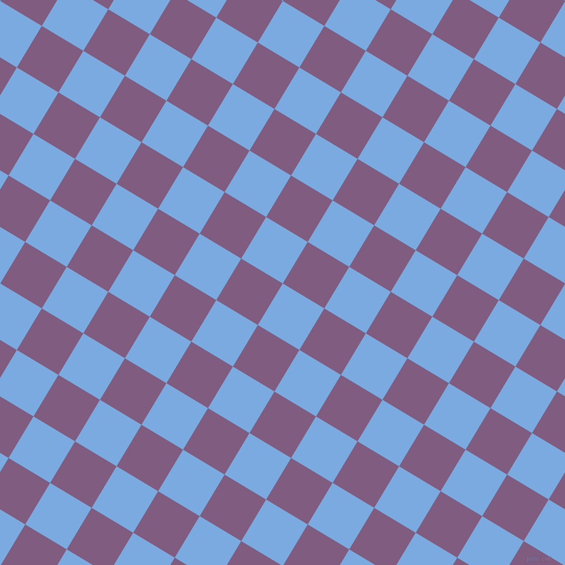 59/149 degree angle diagonal checkered chequered squares checker pattern checkers background, 68 pixel square size, , Jordy Blue and Trendy Pink checkers chequered checkered squares seamless tileable