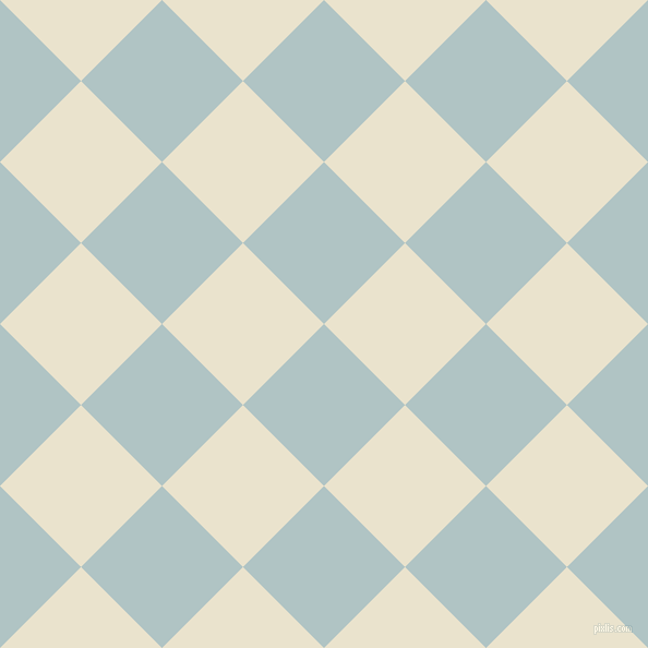 45/135 degree angle diagonal checkered chequered squares checker pattern checkers background, 105 pixel square size, , Jungle Mist and Orange White checkers chequered checkered squares seamless tileable