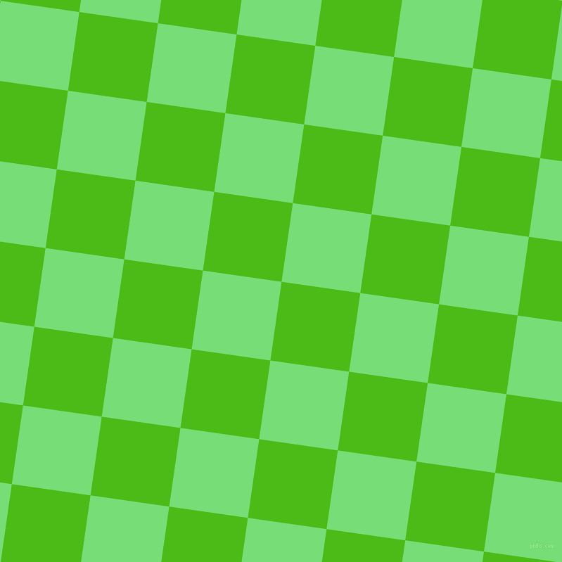 82/172 degree angle diagonal checkered chequered squares checker pattern checkers background, 113 pixel squares size, , Kelly Green and Pastel Green checkers chequered checkered squares seamless tileable