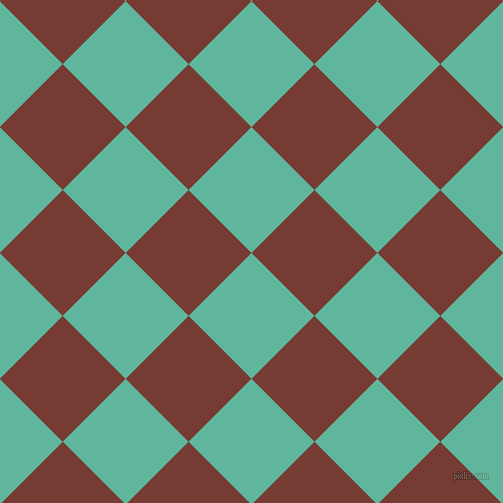 45/135 degree angle diagonal checkered chequered squares checker pattern checkers background, 89 pixel squares size, , Keppel and Crown Of Thorns checkers chequered checkered squares seamless tileable
