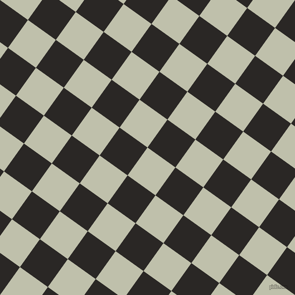 54/144 degree angle diagonal checkered chequered squares checker pattern checkers background, 68 pixel squares size, , Kidnapper and Bokara Grey checkers chequered checkered squares seamless tileable