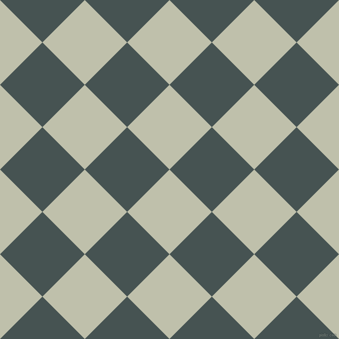 45/135 degree angle diagonal checkered chequered squares checker pattern checkers background, 123 pixel squares size, Kidnapper and Dark Slate checkers chequered checkered squares seamless tileable