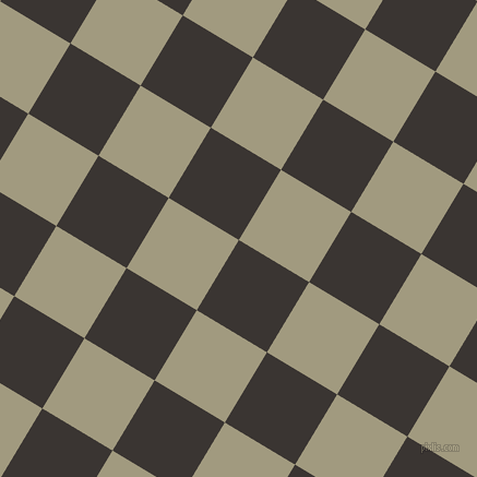 59/149 degree angle diagonal checkered chequered squares checker pattern checkers background, 75 pixel squares size, , Kilamanjaro and Grey Olive checkers chequered checkered squares seamless tileable
