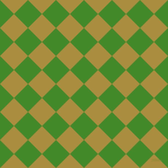 45/135 degree angle diagonal checkered chequered squares checker pattern checkers background, 68 pixel squares size, , La Palma and Luxor Gold checkers chequered checkered squares seamless tileable