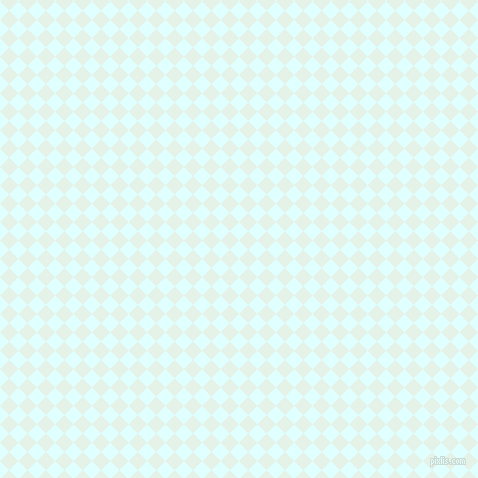 45/135 degree angle diagonal checkered chequered squares checker pattern checkers background, 13 pixel square size, , Light Cyan and Polar checkers chequered checkered squares seamless tileable