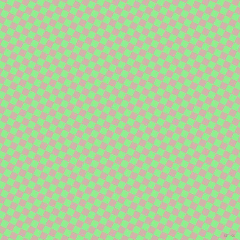 63/153 degree angle diagonal checkered chequered squares checker pattern checkers background, 22 pixel square size, , Light Green and Clam Shell checkers chequered checkered squares seamless tileable