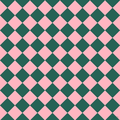 45/135 degree angle diagonal checkered chequered squares checker pattern checkers background, 42 pixel squares size, , Light Pink and Eden checkers chequered checkered squares seamless tileable
