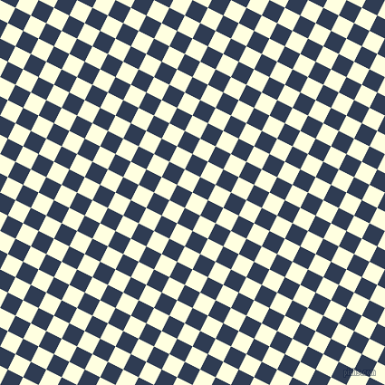 63/153 degree angle diagonal checkered chequered squares checker pattern checkers background, 19 pixel square size, Light Yellow and Biscay checkers chequered checkered squares seamless tileable