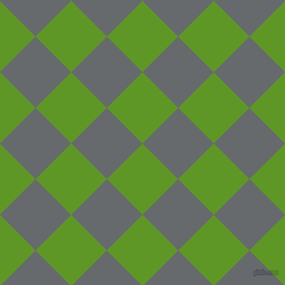 45/135 degree angle diagonal checkered chequered squares checker pattern checkers background, 72 pixel square size, , Limeade and Mid Grey checkers chequered checkered squares seamless tileable