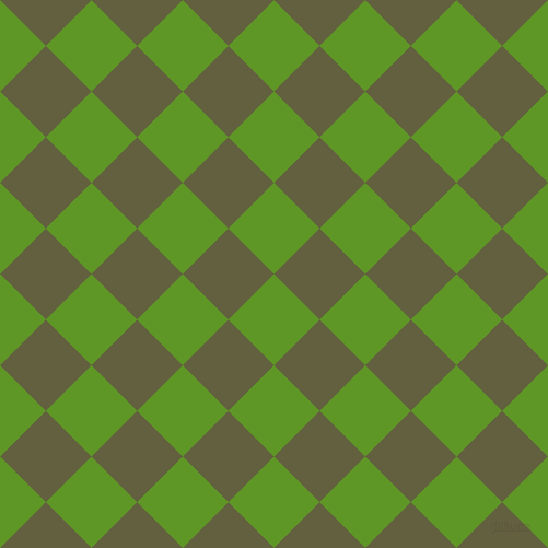 45/135 degree angle diagonal checkered chequered squares checker pattern checkers background, 59 pixel squares size, , Limeade and Verdigris checkers chequered checkered squares seamless tileable