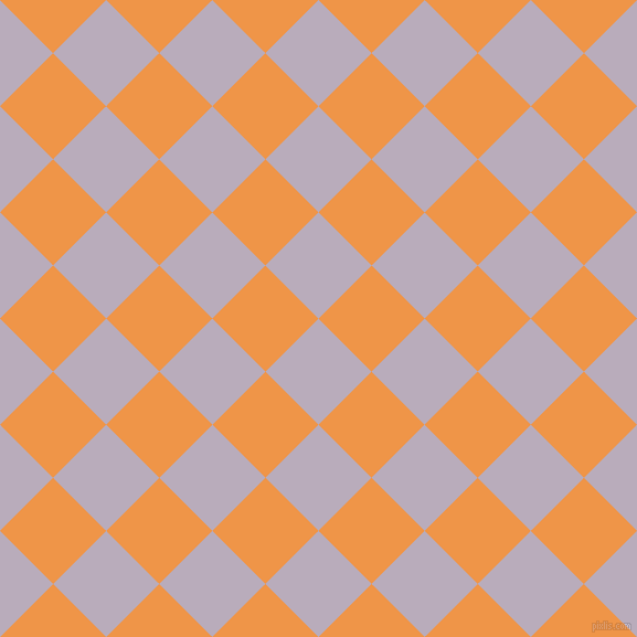 45/135 degree angle diagonal checkered chequered squares checker pattern checkers background, 68 pixel squares size, , Lola and Sea Buckthorn checkers chequered checkered squares seamless tileable
