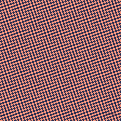63/153 degree angle diagonal checkered chequered squares checker pattern checkers background, 7 pixel square size, , Lucky Point and Vivid Tangerine checkers chequered checkered squares seamless tileable