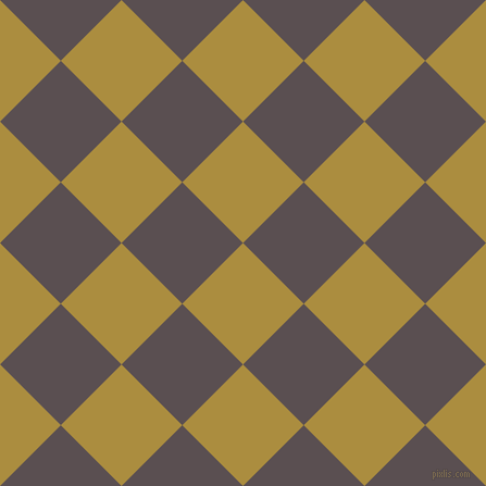 45/135 degree angle diagonal checkered chequered squares checker pattern checkers background, 79 pixel squares size, , Luxor Gold and Don Juan checkers chequered checkered squares seamless tileable