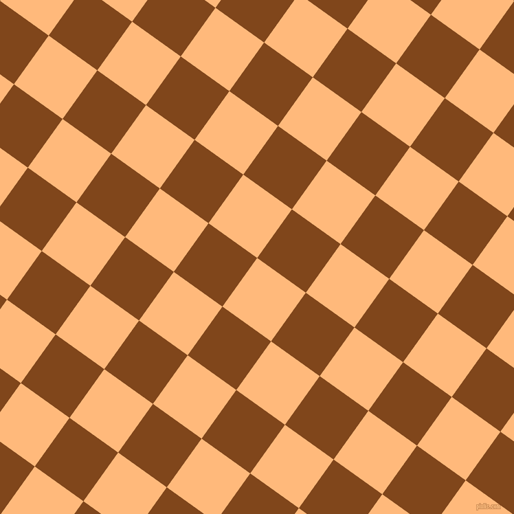 54/144 degree angle diagonal checkered chequered squares checker pattern checkers background, 87 pixel square size, , Macaroni And Cheese and Russet checkers chequered checkered squares seamless tileable