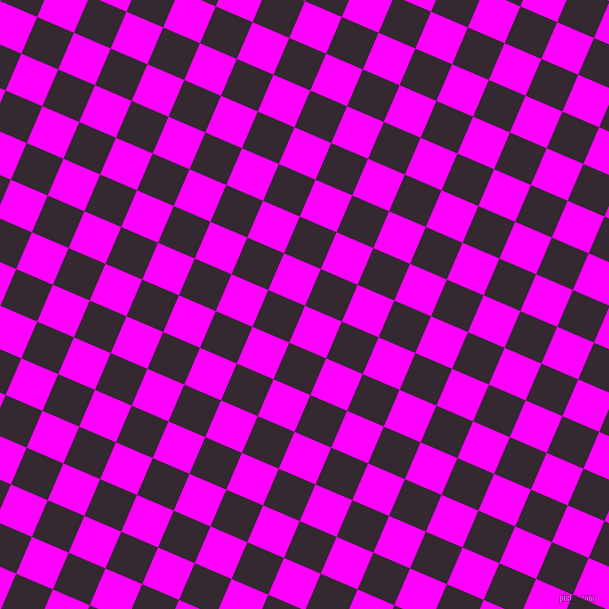 67/157 degree angle diagonal checkered chequered squares checker pattern checkers background, 40 pixel square size, , Magenta and Melanzane checkers chequered checkered squares seamless tileable