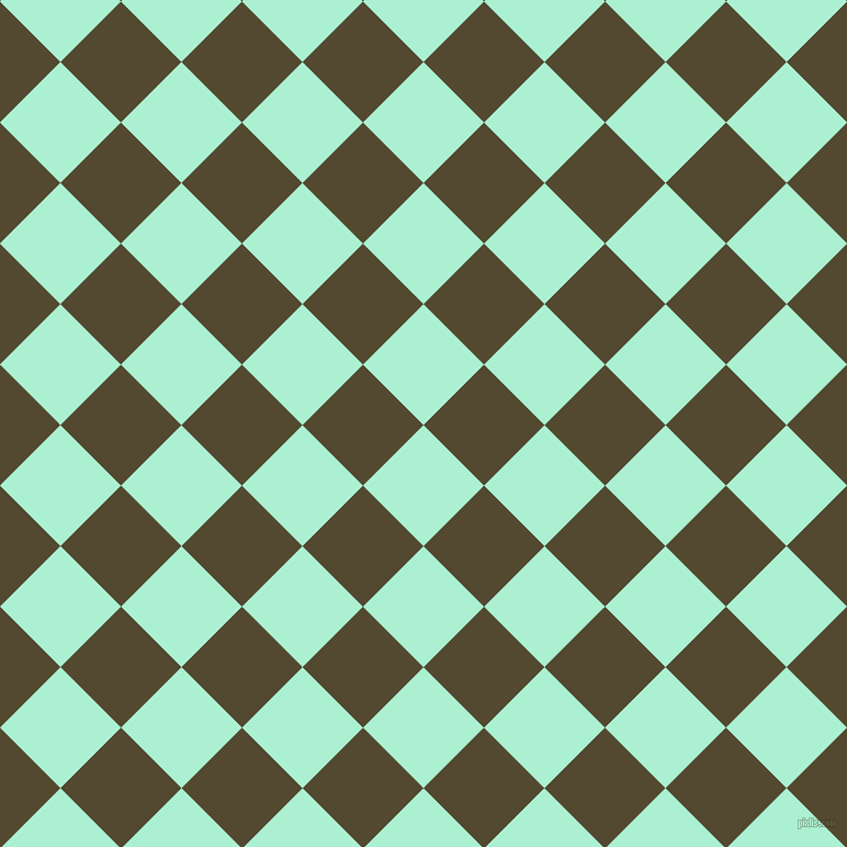 45/135 degree angle diagonal checkered chequered squares checker pattern checkers background, 78 pixel squares size, , Magic Mint and Punga checkers chequered checkered squares seamless tileable