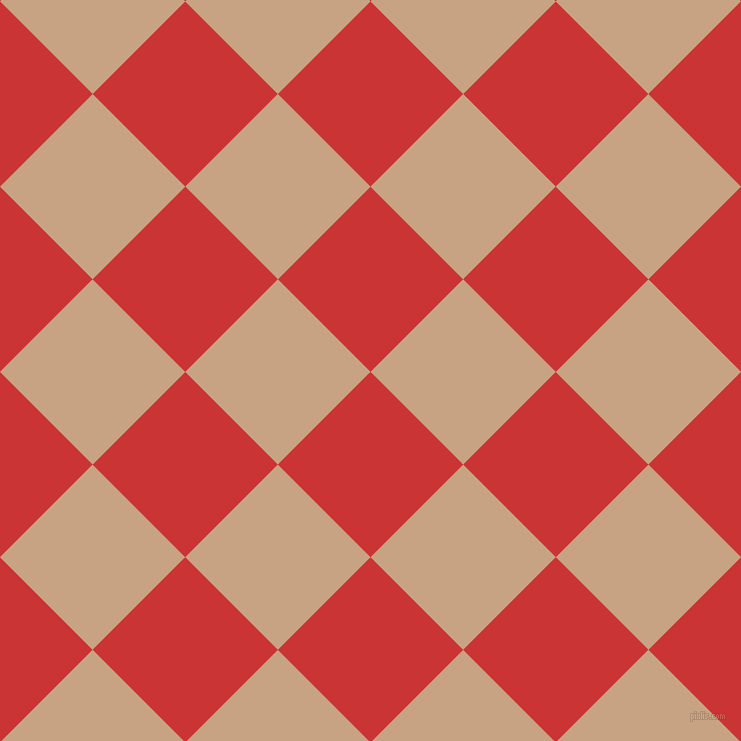 45/135 degree angle diagonal checkered chequered squares checker pattern checkers background, 131 pixel square size, , Mahogany and Rodeo Dust checkers chequered checkered squares seamless tileable