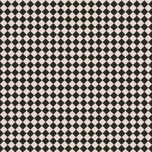 45/135 degree angle diagonal checkered chequered squares checker pattern checkers background, 18 pixel square size, , Maire and Dawn Pink checkers chequered checkered squares seamless tileable