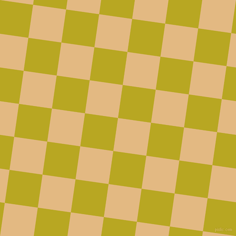 82/172 degree angle diagonal checkered chequered squares checker pattern checkers background, 67 pixel squares size, , Maize and Earls Green checkers chequered checkered squares seamless tileable