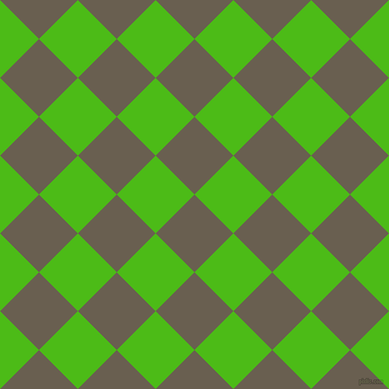 45/135 degree angle diagonal checkered chequered squares checker pattern checkers background, 80 pixel square size, , Makara and Kelly Green checkers chequered checkered squares seamless tileable