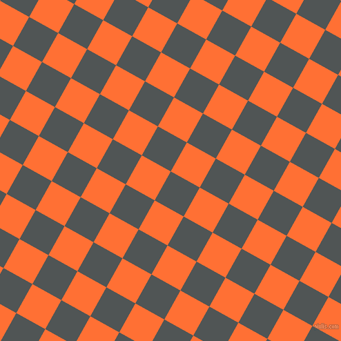 61/151 degree angle diagonal checkered chequered squares checker pattern checkers background, 48 pixel squares size, , Mako and Burnt Orange checkers chequered checkered squares seamless tileable